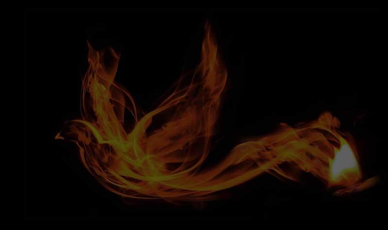 Phoenex in Flames